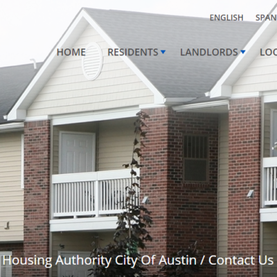 THE HOUSING AUTHORITY OF THE CITY OF AUSTIN