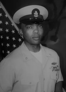 Navy Chief Petty Officer in Uniform